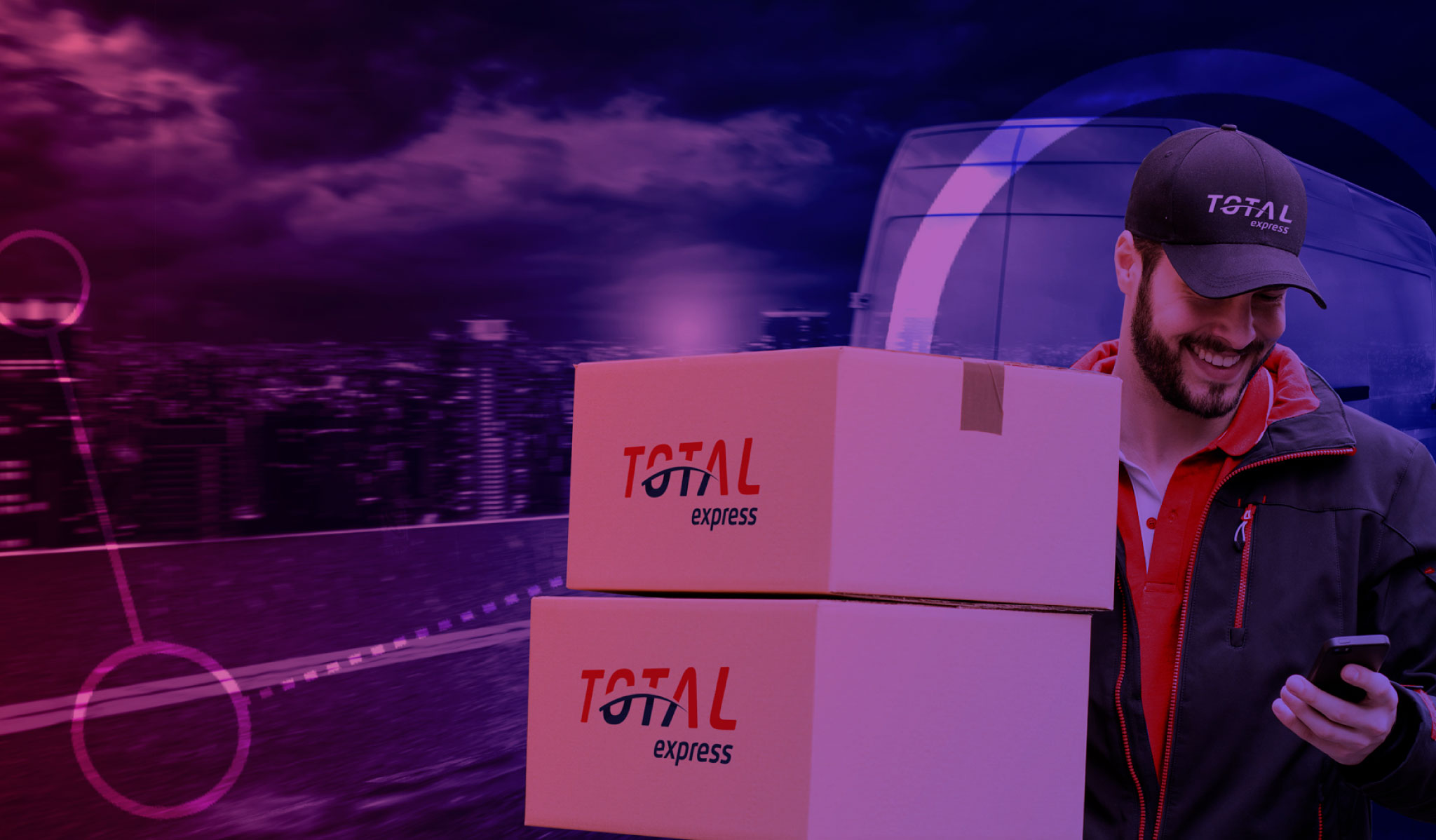Comprou, chegou: conheça as vantagens da entrega expressa da Total Express