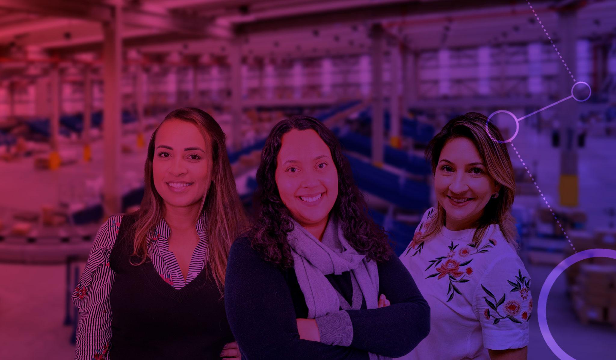 Conheça algumas das mulheres da Total Express que fazem a logística acontecer