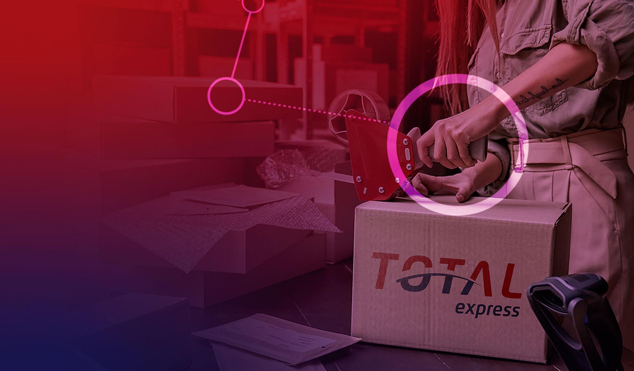 Total Express acelera vendas do pequeno e-commerce na Semana do Consumidor